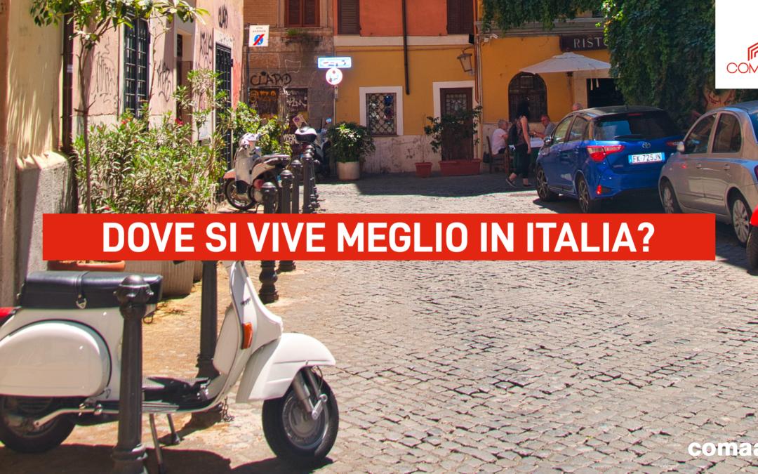 Comaan: dove si vive meglio in Italia?